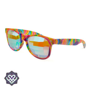 kaleidoscoop bril rayban