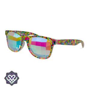 kaleidoscoop spacebril zijkant