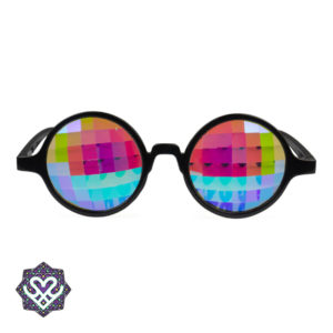 kaleidoscope bril rond