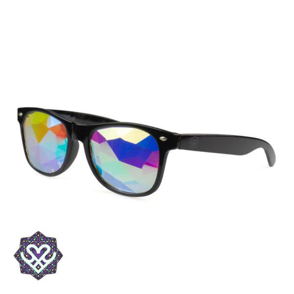 kaleidoscope glasses black
