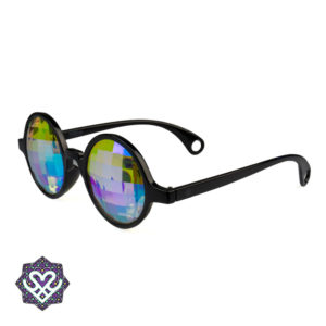 kaleidoscope glasses round