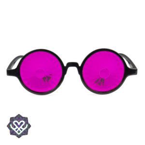 kaleidoscope spacebril roze