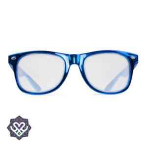regenboog bril blauw montuur