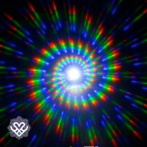 spacebril effect circle round
