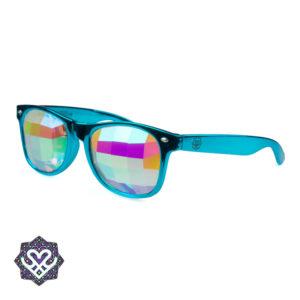 spacebril blauw montuur