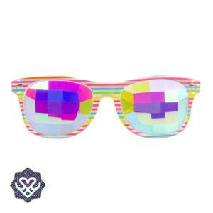 spacebril regenboog kleur