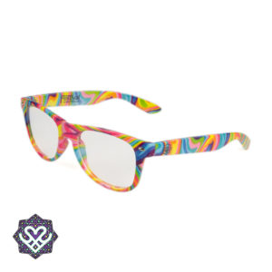 spacebril regenboog montuur