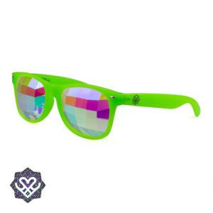 tripbril neon groen
