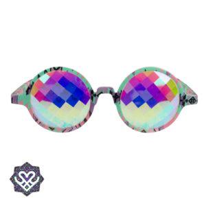 tripbril regenboog glazen