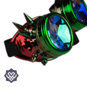 caleidoscoop goggle spikes