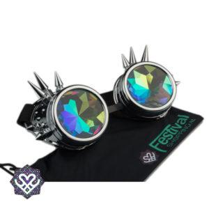 caleidoscoop goggles zilver