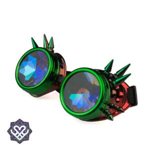 diffraction steampunk goggle