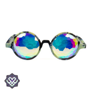 goedkope ronde kaleidoscope bril
