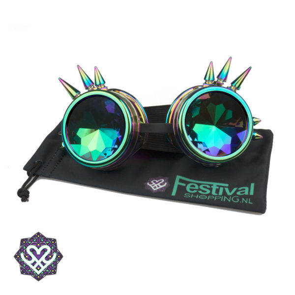 kaleidoscope goggle oil spikes
