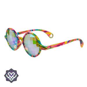 kaleidoscope rainbow lens