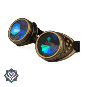 steampunk caleidoscoop goggle