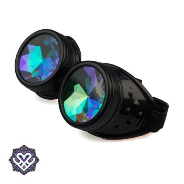 steampunk kaleidoscoop goggles