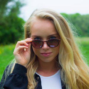 Gekke zonnebril