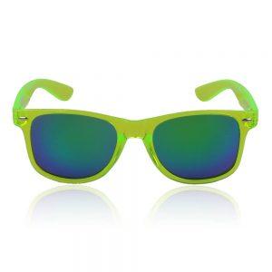 Neon geel: groen zonnebril
