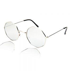 8 hoekige zonnebril