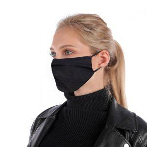 zwart mondmasker bestellen
