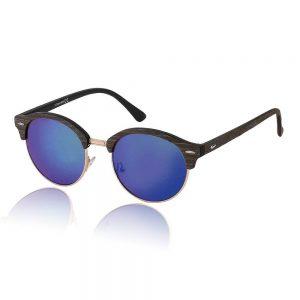 blauwe goedkope zonnebril