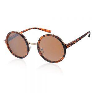 bruine zonnebril panter