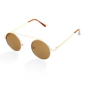goedkope zonnebril bruine glazen