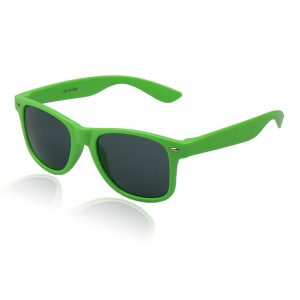 wayfarer zonnebril groen goedkoop