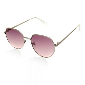 zonnebril zilver frame