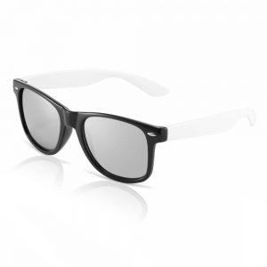 zwart witte wayfarer zonnebril